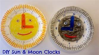 clock crafts for how to make easy paper plate clock for great
