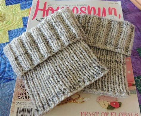 knit boot cuffs pattern free 25 best ideas about knitted boot cuffs on