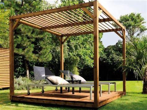 pour un 233 t 233 au frais 233 quipez votre jardin d une pergola en bois mypiscine