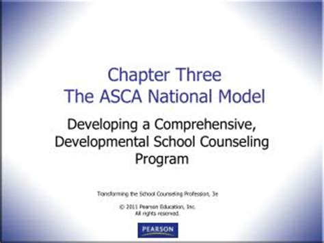 the asca national model a framework for school counseling programs 3rd edition ppt asca national model for counseling powerpoint