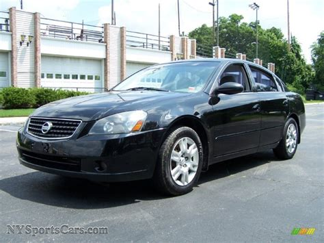 2005 Nissan Altima 2 5 by 2005 Nissan Altima 2 5 S In Black 465373
