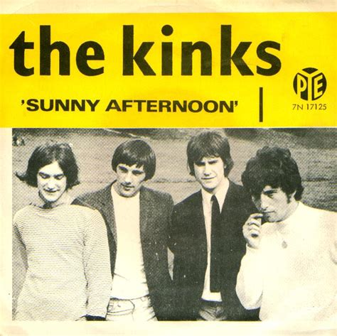 picture book the kinks lyrics afternoon i m not like everybody else