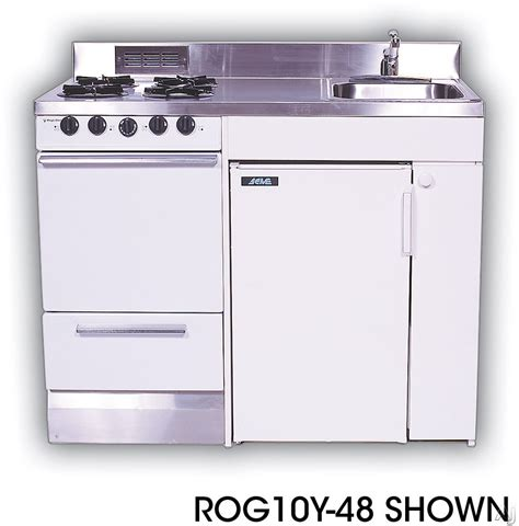 compact kitchen sinks acme roe compact kitchen with stainless steel countertop