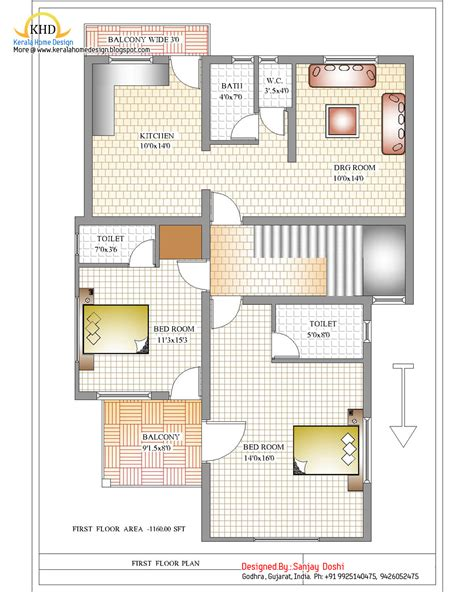 home design plans india free duplex duplex house plan and elevation 2310 sq ft kerala