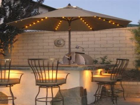 patio outdoor lights outdoor umbrella lights patio cover lighting ideas idea