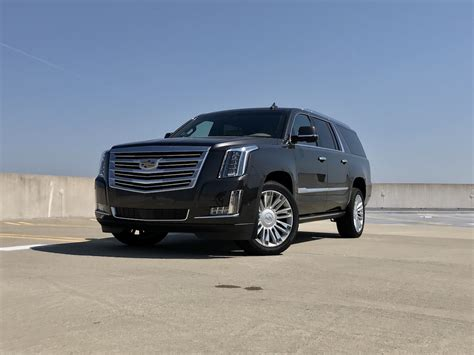 Cadillac Escalade Review by 2018 Cadillac Escalade Esv Platinum Test Drive Review