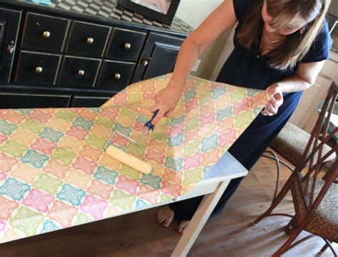 how to decoupage furniture with mod podge decoupage furniture 8
