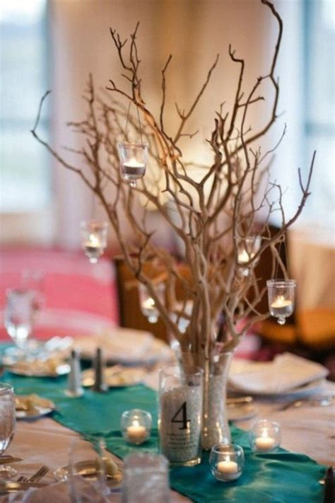 wedding centerpiece branches 30 chic rustic wedding ideas with tree branches tulle