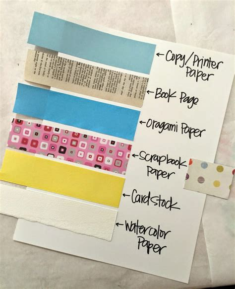 types of craft paper t matthews friday class for may 2015