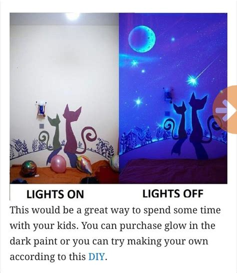 glow in the paint friend get inspired with glow in the wall paint for your