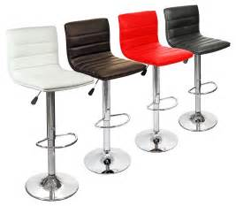 Black Leather Swivel Bar Stools by Pair Of Contemporary Ribble Breakfast Bar Stools Choice