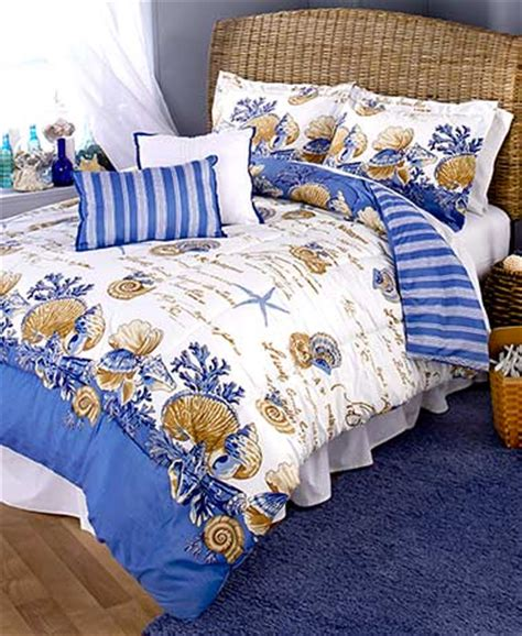 coastal comforters bedding sets 5 pc coastal comforter set the lakeside collection