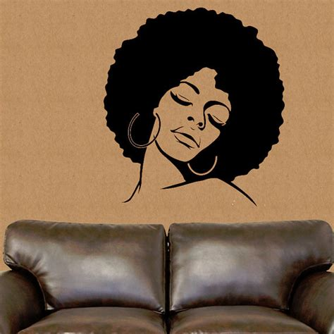 Afrocentric Home Decor african american wall decal african wall decor african vinyl