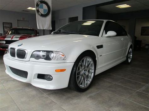 repair anti lock braking 2002 bmw m3 seat position control buy used 2002 bmw m3 white coupe manual 6 speed in westhton beach new york united states
