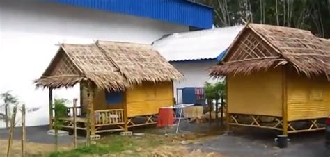Make A Kitchen Island these thai workers built a home out of bamboo in 6 hours