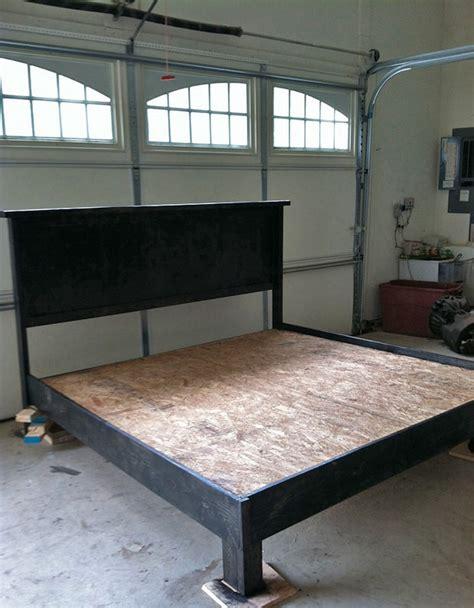 diy platform bed frame 18 gorgeous diy bed frames the budget decorator