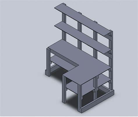 corner desk shelf unit diy corner desk corner desk shelf unit woodworking talk woodworkers forum get crafty