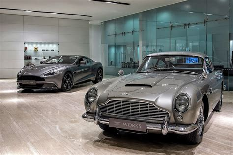 Aston Martin Newport by Aston Martin Works 60th Anniversary Celebration In Newport
