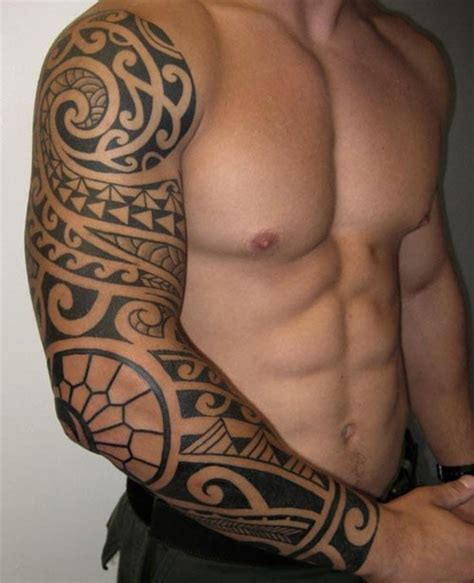 25 adorable polynesian tribal tattoos creativefan