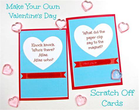 make your own scratch cards morena s corner