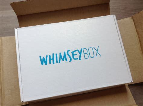 craft subscription box whimsey box review craft subscription box august 2013