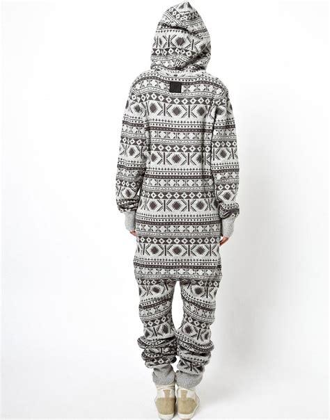 heavy knit onesie onepiece onepiece halling heavy knit onesie at asos