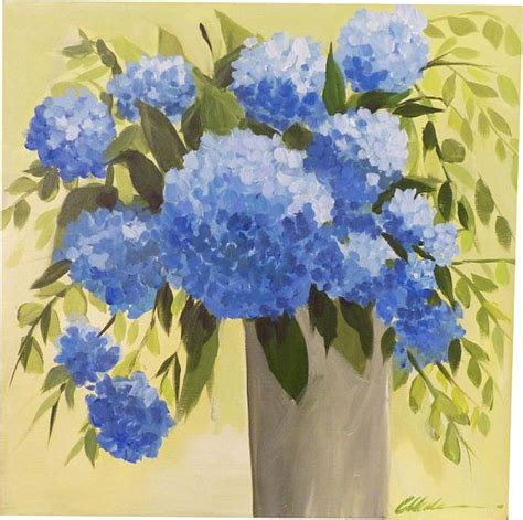 acrylic painting hydrangeas 25 best ideas about hydrangea painting on