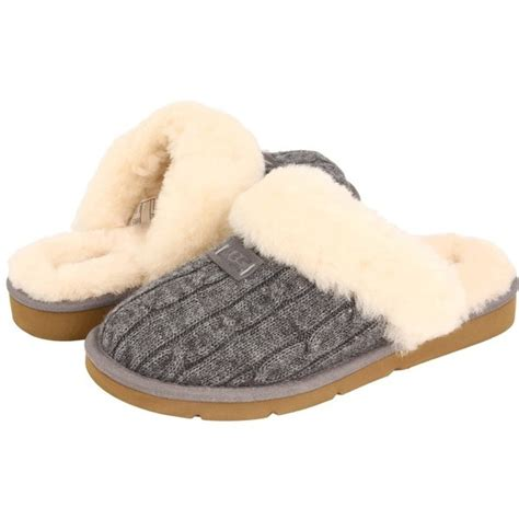 cozy knit ugg slippers ugg cozy knit slippers wish list