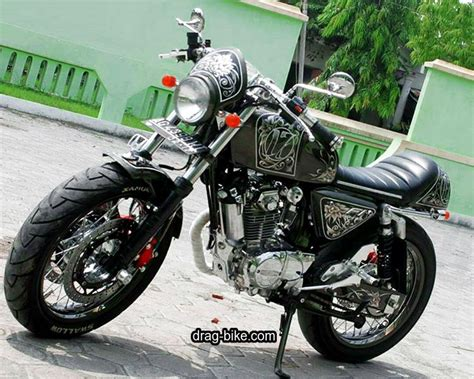 Cafe Racer Style Modifikasi by 50 Foto Gambar Modifikasi Honda Cb 100 Klasik Style