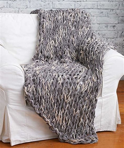 how to knit without needles home dzine craft ideas knit a blanket without