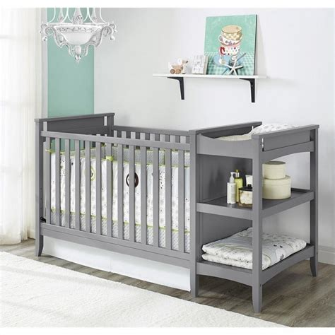 baby crib and changing table sets 2 in 1 convertible crib and changing table combo set in