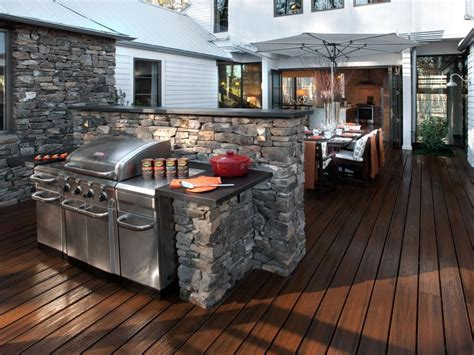outdoor barbeque designs 20 outdoor kitchens and grilling stations hgtv