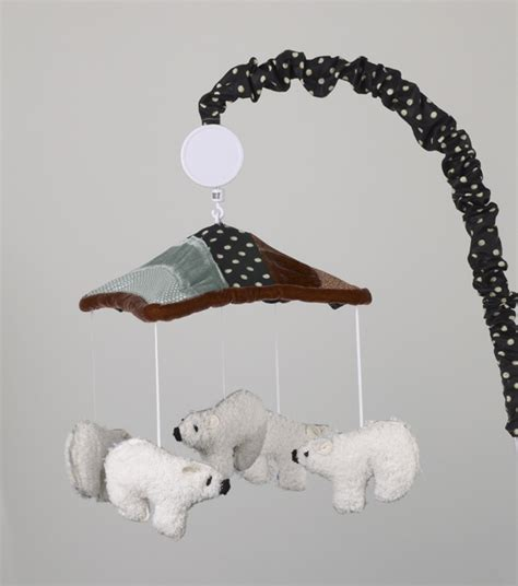 polar crib bedding polar mobile from arctic babies range babys room