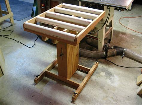 roller stands for woodworking my table saw roller stand jeff branch woodworking