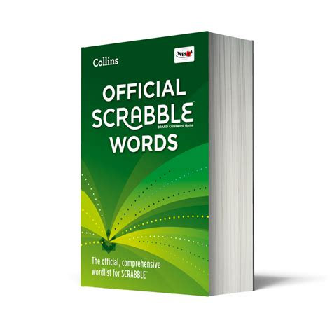 official scrabble word scrabble guides from collins