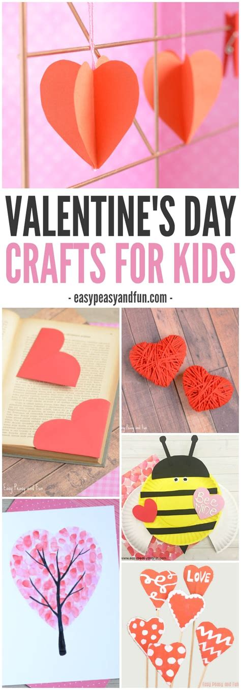 day crafts for valentines day crafts for easy peasy and