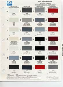 paint colors and codes auto paint codes 1997 toyota paint codes auto paint