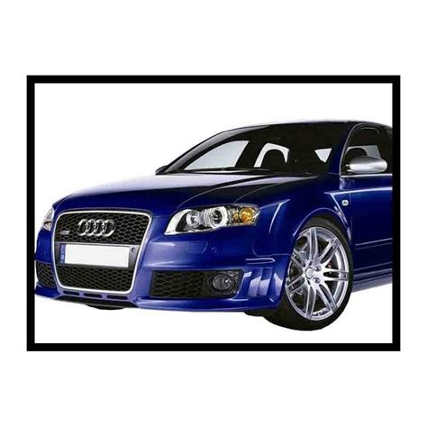 front bumper audi a4 2005 rs4 tuning carbon hoods