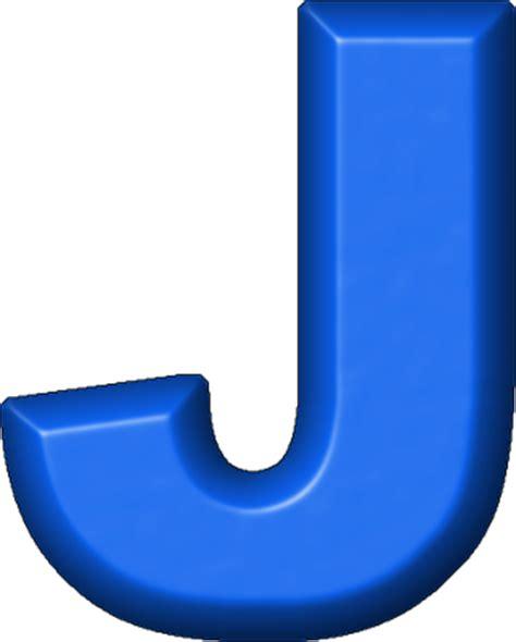 blue j presentation alphabets blue refrigerator magnet j