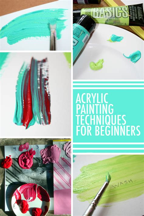 acrylic painting for beginners 13 must acrylic painting techniques for beginners