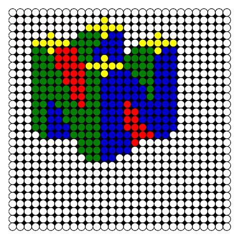 Nintendo Perler Bead Pattern Bead Sprites Misc Fuse
