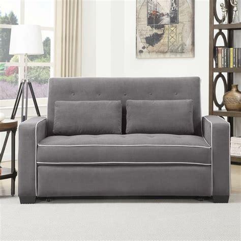 convertible sofa bed serta augustine convertible sofa bed