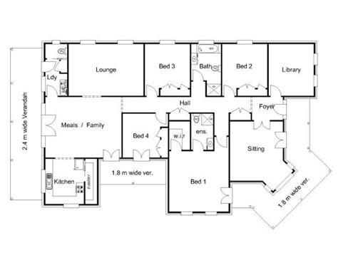 floor plans australian homes the 25 best australian house plans ideas on