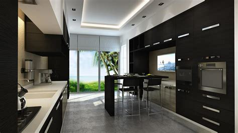 23 beautiful kitchens 23 beautiful kitchen designs with black cabinets page 2 of 5