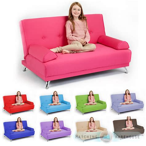 sofa beds for children childrens cotton twill clic clac sofa bed with armrests