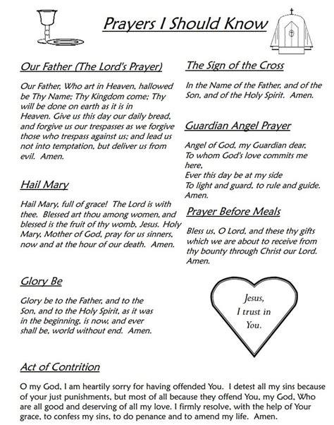 catholic prayer 25 best ideas about catholic prayers on