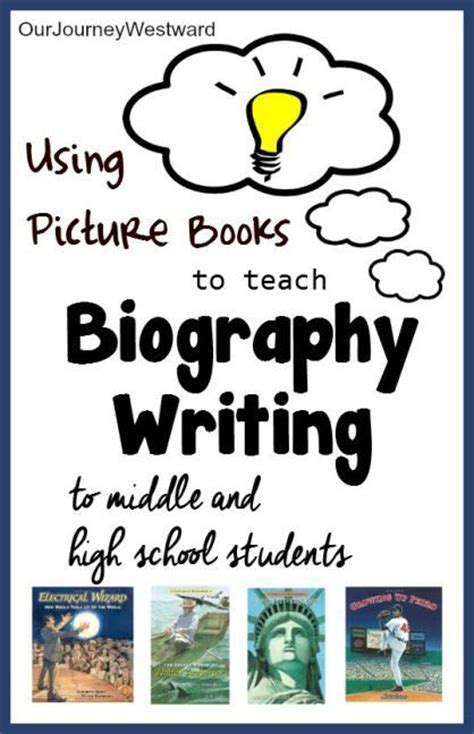 using picture books to teach writing teach students how to write great biographies and