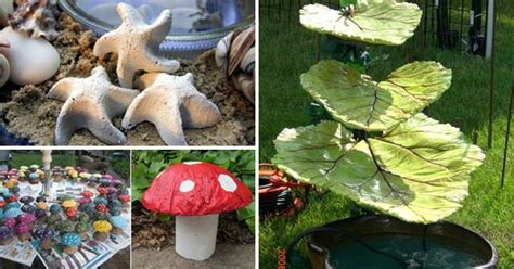 outdoor craft projects 28 cutest outdoor concrete projects for your home