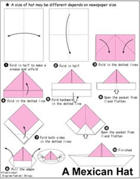 how to make an origami paper hat 1000 images about origami on origami hearts