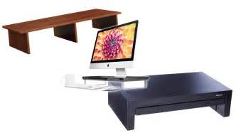 monitor stand for desk top 10 best monitor desk risers 2017 your easy buying